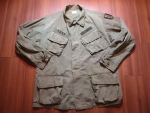 U.S.ARMY Coat Cotton Poplin 1969年 sizeM-Short used