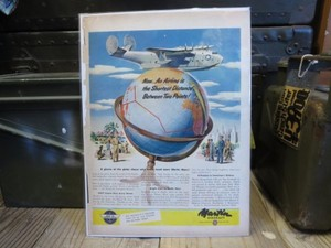"U.S.Life誌 AD ""Martin Aircraft Company"" (切り抜き実物です)"