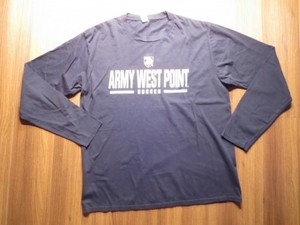 "U.S.ARMY T-Shirt ""WEST POINT SOCCER"" sizeL used"