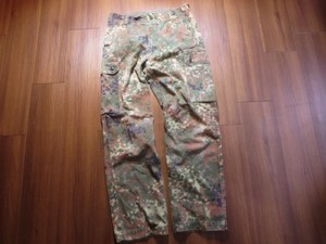 Germany Field Trousers Fleck Camo waist80cm used