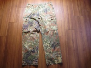 Germany Field Trousers Fleck Camo waist86cm used