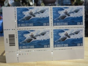 "U.S.NAVY Stamps ""Los Angeles-Class Submarine"" new"