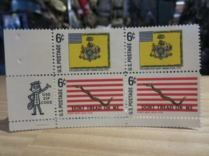 "U.S.NAVY Stamps ""Don't Tread On Me"" 1968年 new"