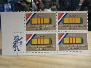 "U.S.Stamps ""Honoring Vietnam Veterans"" 1979年 new"
