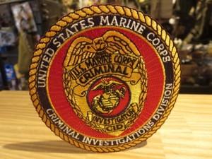 "U.S.MARINE CORPS Patch ""CID"" used?"