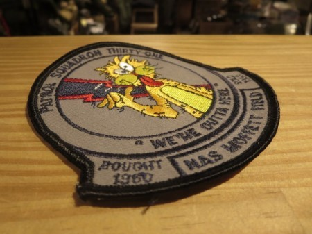 "U.S.NAVY Patch ""VP-31 BLACK LIGHTNINGS"" used ?"