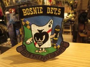 "U.S.NAVY Patch ""BOSNIE DET,5"" used?"