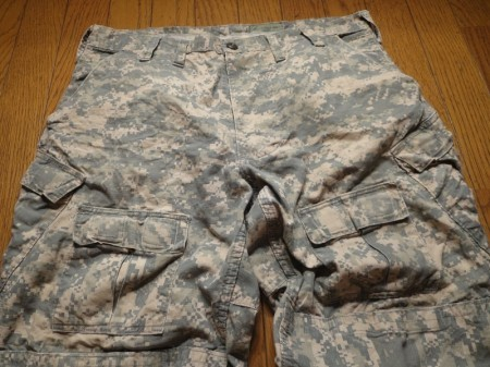 U.S.ARMY Trousers for Sof Battle 2007年 sizeL? used