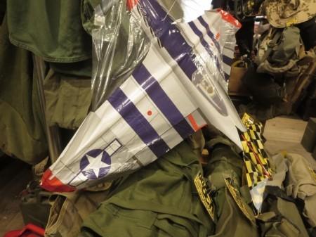 """U.S.NAVY """"P-51 MUSTANG"""" Kite new"""