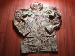U.S.NAVY All Weather Parka TypeⅢ sizeS-Long used