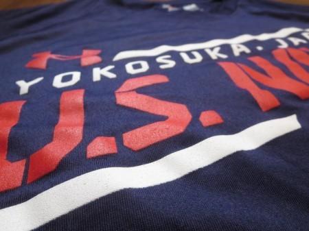 "U.S.NAVY T-Shirt PhysicalTraining ""YOKOSUKA"" sizeL"