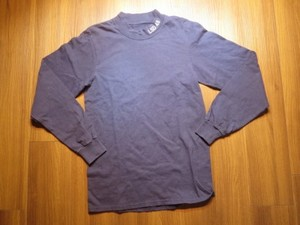 "U.S.NAVY T-Shirt Long Sleeve ""LSD-48"" sizeS? used"
