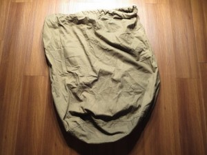 U.S.Barrack(Laundry)Bag O.D. 1945年 used
