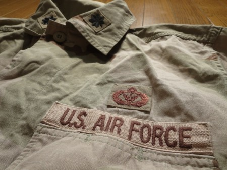 U.S.AIR FORCE Coat 3Color 1997年 sizeM-R used