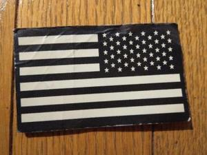U.S.IR Patch Flag Reverce used