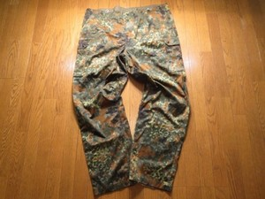 Germany Field Trousers Fleck Camo sizeXXL? new?