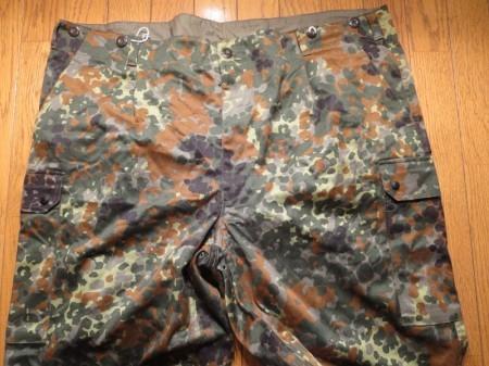 Germany Field Trousers Fleck Camo sizeXXL? new?