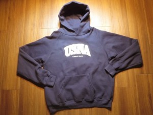 "U.S.NAVY Hooded Parka ""NAVAL ACADEMY"" sizeL used"