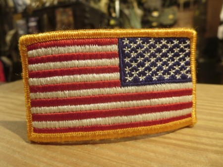 "U.S.Patch ""The Stars and Stripes"" Reverse used"