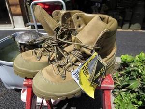 "U.S.Boots""Belleville Combat Gore-Tex""size10.5W new"