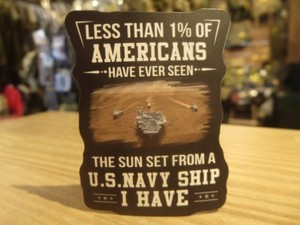 U.S.NAVY STICKER Small