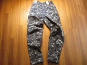 U.S.NAVY Trousers Working Uniform sizeM-Long new