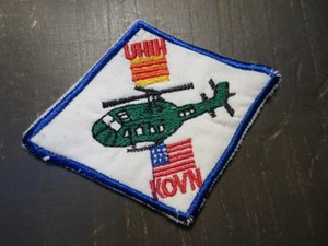 "U.S.ARMY Patch""UH1H KOVN""1960年代?used"
