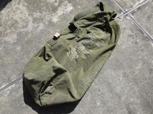 U.S.NAVY Duffel Bag Cotton 1960年代 used
