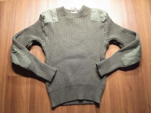 U.S.MARINE CORPS Sweater Wool 1988年 size38 used
