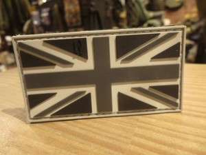 "U.K.Flag Patch ""UNION JACK"" used"