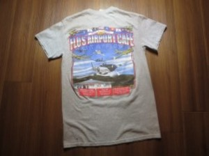 "U.S.T-Shirt ""FLO""S AIRPORT CAFE"" sizeS used"