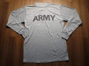U.S.ARMY T-Shirt physical training sizeM new?