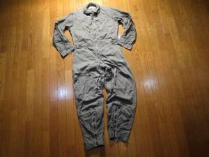 U.S.AIR FORCE Coverall Flying K-2B 1969年sizeM used