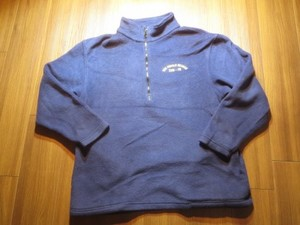 "U.S.NAVY Fleece ""USS RONALD REAGAN"" sizeL? used"