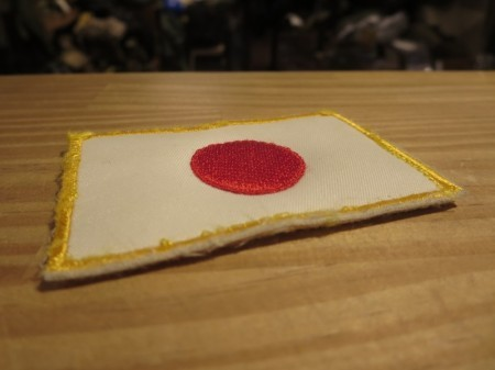 "JAPAN SELF-DEFENSE FORCE ""日章旗"" used ?"