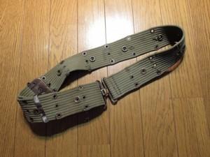 U.S.Pistol Belt 1960年代 used