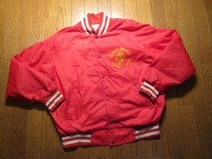 U.S.MARINE CORPS Athletic Jacket Nylon sizeL used