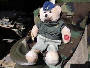 U.S.AIR FORCE? Stuffed Bear Small new