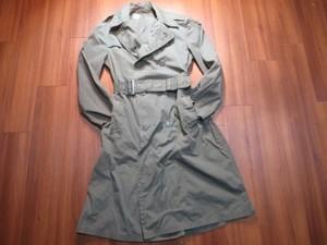 U.S.ARMY Raincoat Cotton&Nylon 1971年 size36R used