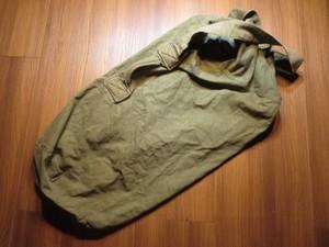 U.S. Duffel Bag Cotton 1945年 used