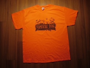 "U.S.NAVY T-Shirt ""PUMPKIN RUN YOKOSUKA"" sizeXL"