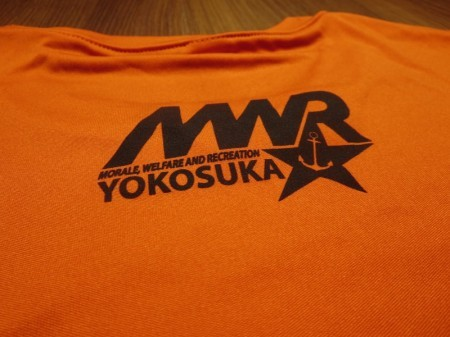 "U.S.NAVY T-Shirt ""PUMPKIN RUN YOKOSUKA"" sizeL"