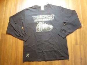"U.S. T-Shirt ""TANKFEST NORTHWEST"" sizeL used"