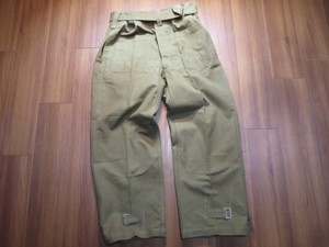 France Motorcycle Over Trousers 1940年代? sizeM?L?