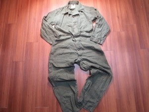 U.S.Coveralls Utility 100Cotton 1988年 sizeM used