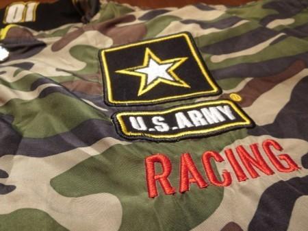 U.S.ARMY NASCAR Jacket Reversible sizeXL used