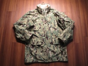 U.S.NAVY AllWeatherParka Working TypeⅢsizeS-L used