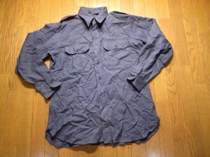 U.S.AIR FORCE Shirt WoolFlannel? 1950年代?sizeL?used