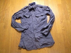 U.S.AIR FORCE Shirt WoolFlannel? 1960年代?sizeXSused