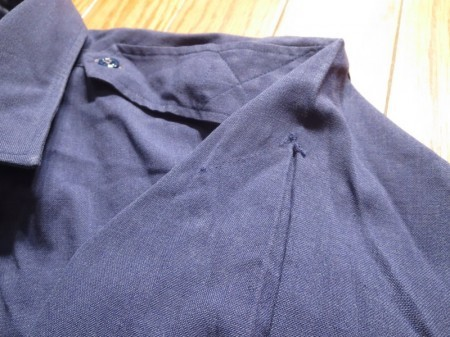 U.S.AIR FORCE Shirt Sample 1950-60年代? sizeL? used